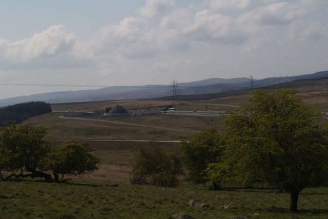 View South from The Nab, near Hardendale Quarry