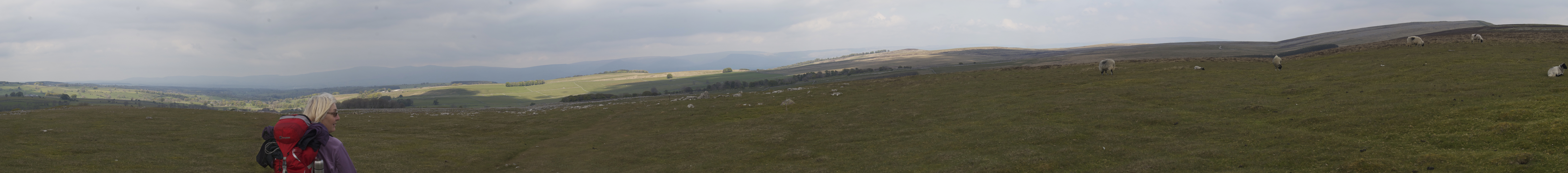 Great Ashby Scar and Pennines from NY 62015 11081