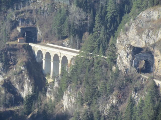 The Semmering Railway, built over 41 km of high mountains between 1848 and 1854, is one of the greatest feats of civil engineering from this pioneering phase of railway building. The high standard of the tunnels, viaducts and other works has ensured the continuous use of the line up to the present d...