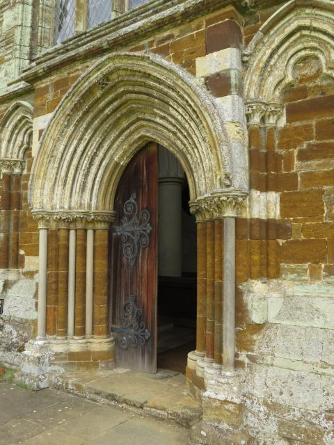 Henry VIII gave the priory to one of his friends, Sir Francis Bryan, after the Dissolution. All of the buildings were demolished except for the bell tower. In 1551 St Mary's became the Dryden's private family church when they inherited Canons Ashby. The family kept the church open as a parish church...