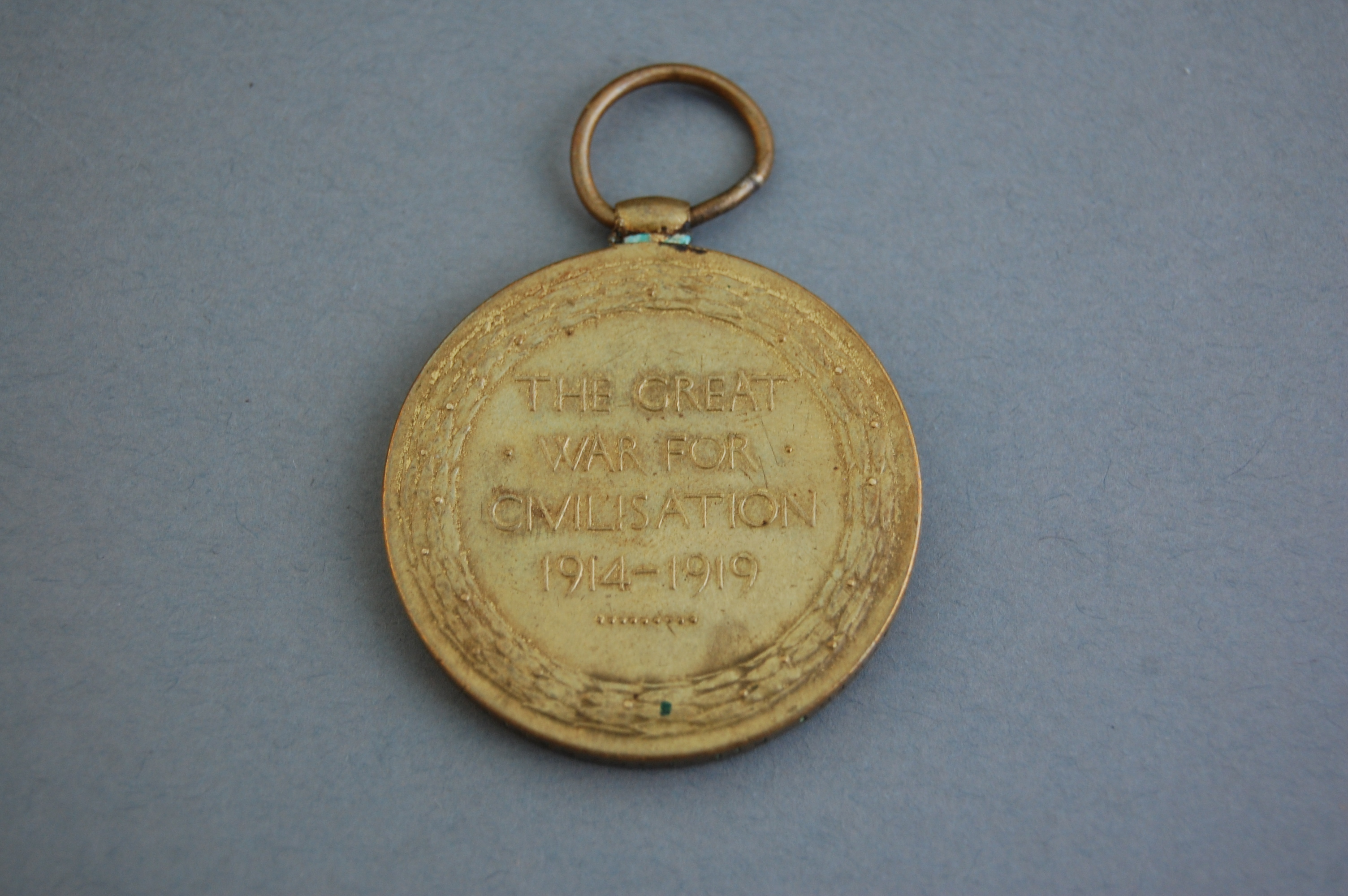 The British Victory Medal.