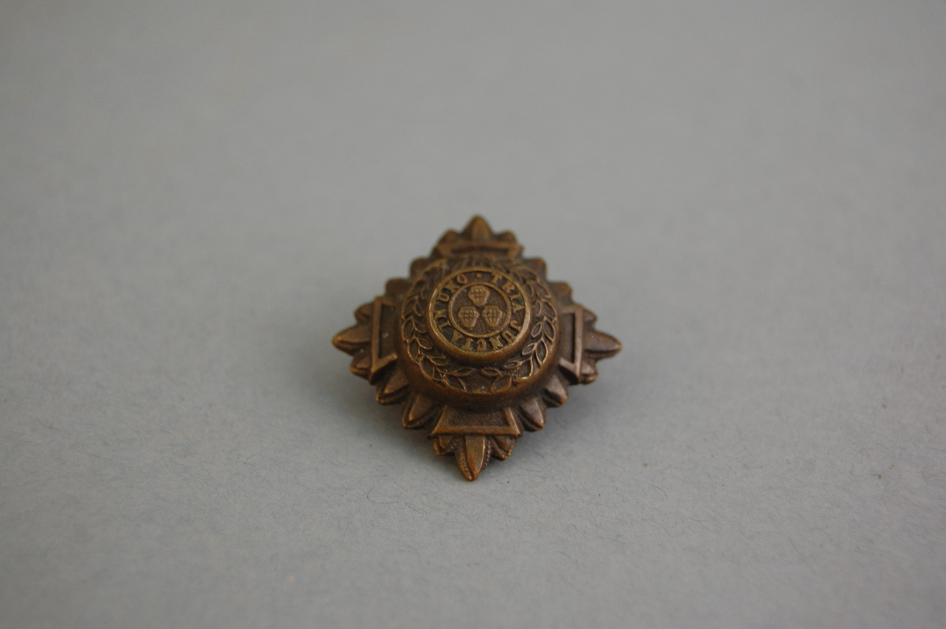Officers 'pip'. A number of these worn on the shoulder of the uniform showed an officers rank.