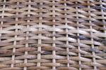 Cane or Wickerwork is made from woven stalks of plants, although today plastic 'Cane and Wickerwork' can also be found.