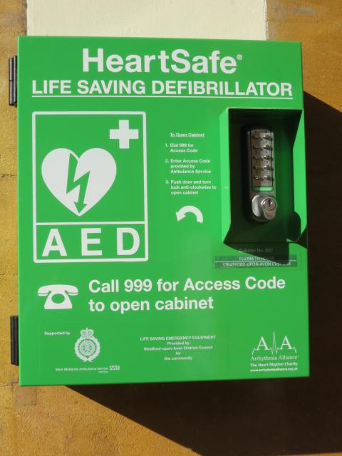 Public access defibrillators (PADs) can be found in public spaces like your local shopping centre, gym, train station or village hall. 