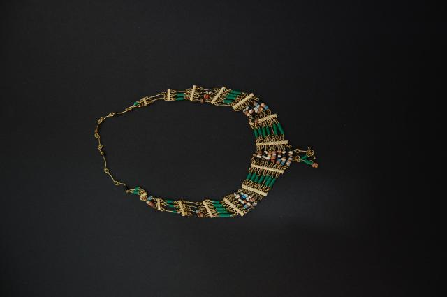 A replica Egyptian collar or necklace