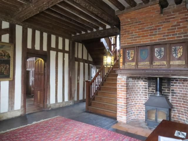 Paycocke's is a National Trust Property built 1509/10. It is an attractive half-timbered merchant's house with intricate carved woodwork and panelling. Built for Thomas Paycocke it shows off the wealth generated by the cloth trade in Coggeshall and in Essex. Saved from demolition by the local commun...