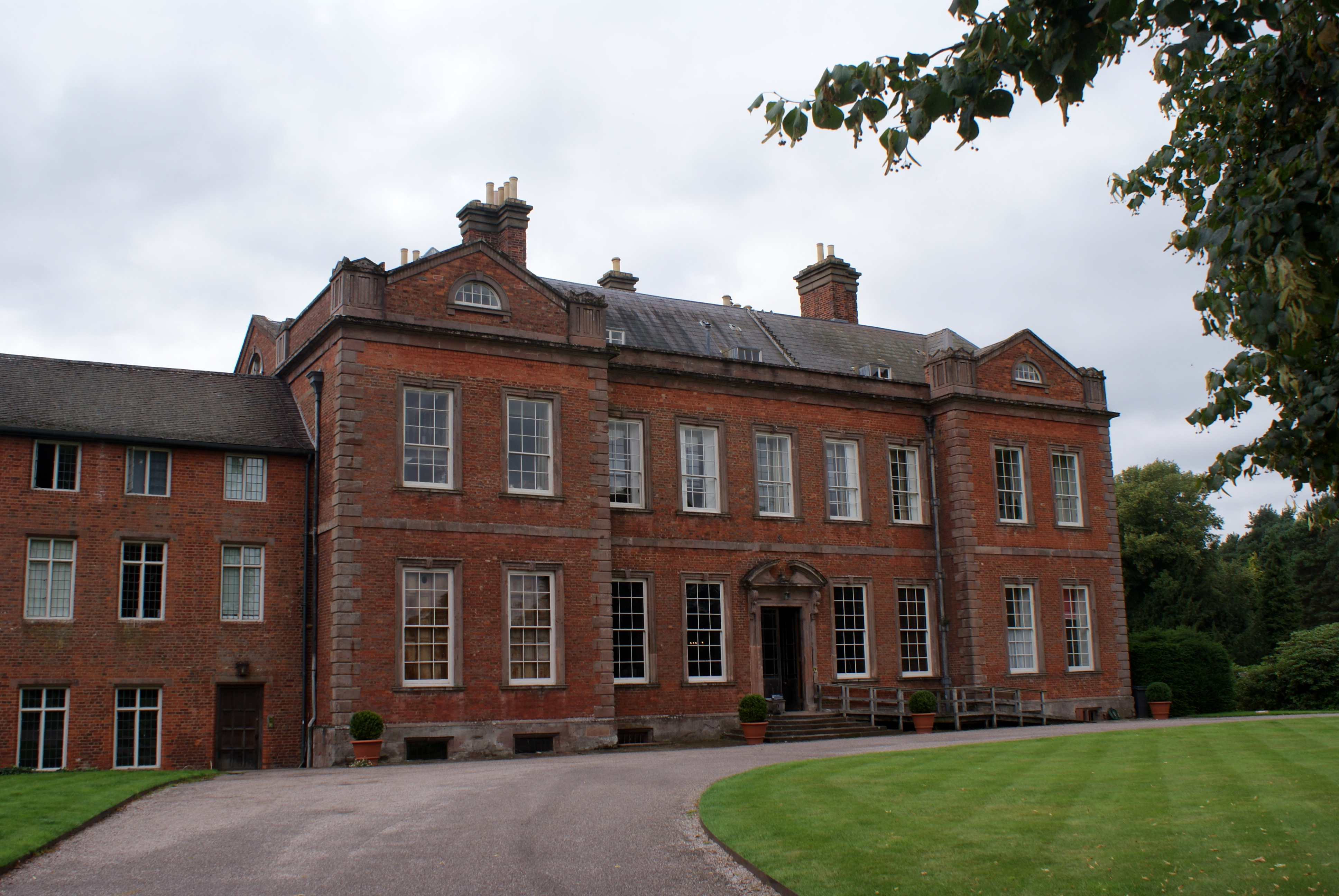 Dudmaston, a country house in Shropshire