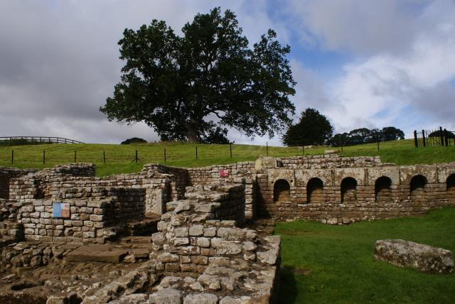 Chesters Roman Fort was built almost 2000 years ago to house a Roman army garrison guarding the nearby bridge across the River Tyne.