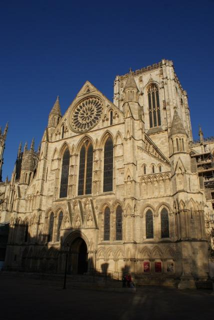 York Minster is the cathedral of York and is one of the largest in Northern Europe