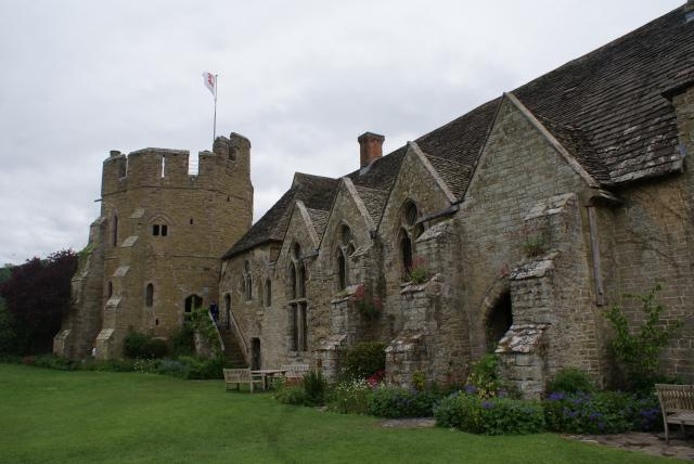 Stokesay Castle is probably the finest and best-preserved fortified medieval manor house in England