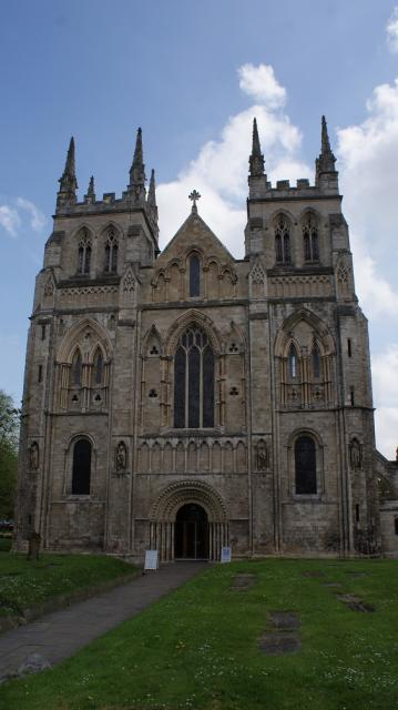 Selby Abbey is a surviving abbey church dating from the medieval period.