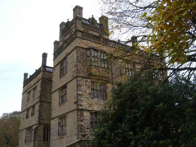 Gawthorpe Hall is an Elizabethan building which was redesigned in the 1850s by Sir Charles Barry, designer of the Houses of Parliament and Highclere Castle which featured in the TV serial 'Downton Abbey'.