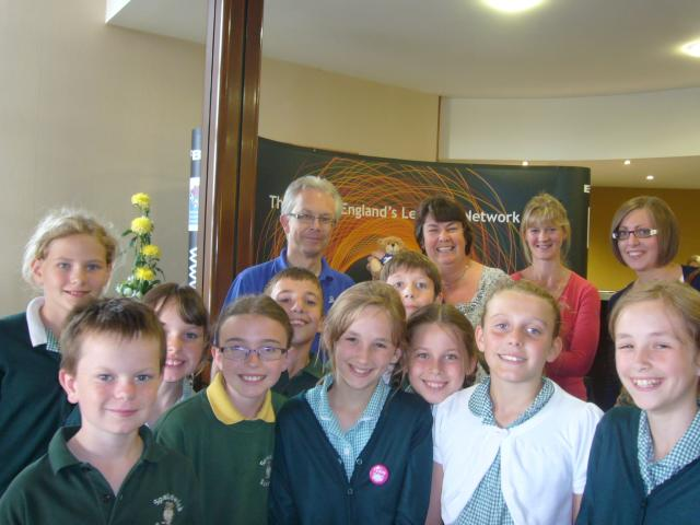 Spaldwick Community Primary School were chosen to be our guests at the 2011 E2BN Annual Conference.