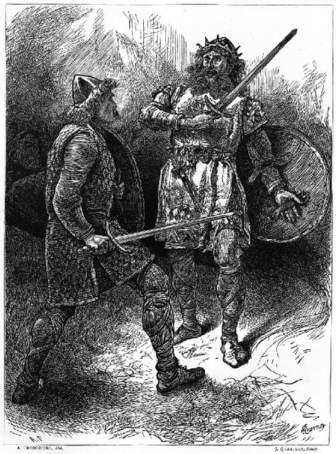 macduff a true hero Macbeth as a tragic hero  his true anagnorisis came during his battle with macduff, where macduff revealed he was not born of woman, rather he was ripped form his .