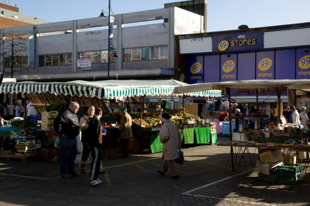 Romford Market - Views of the market.