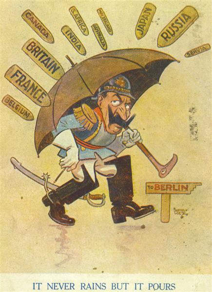 world war 1 propaganda postcards